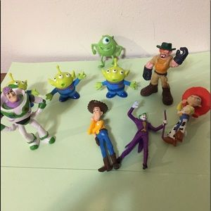Assortment of small toys as shown in pics